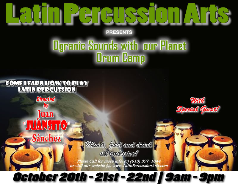 congas, timbales, cow bells, shakers, chequeres, kids drumming, kids drumming class, kids music program, mommy and me kids drumming