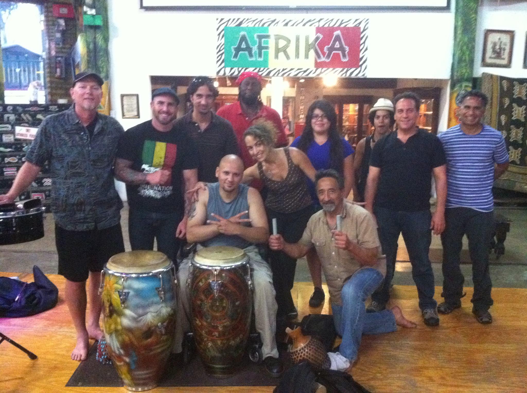 World Beat Center Advanced Latin Percussion Class