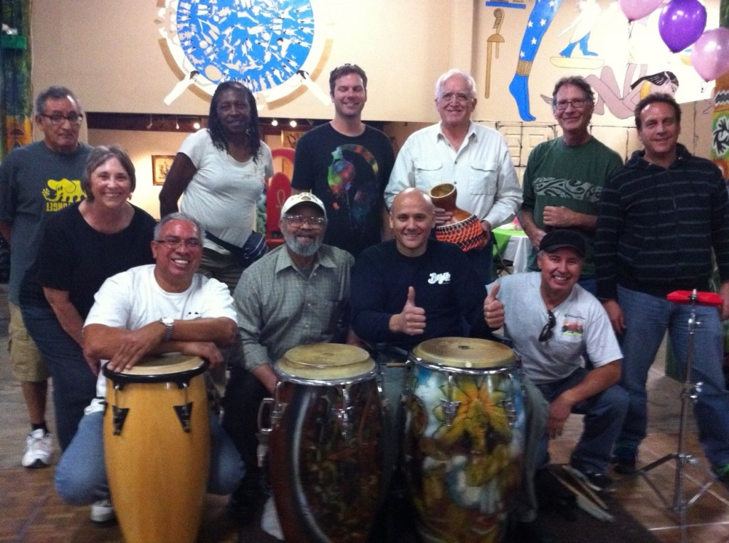 congas, cow bells, latin percussion, world beat center