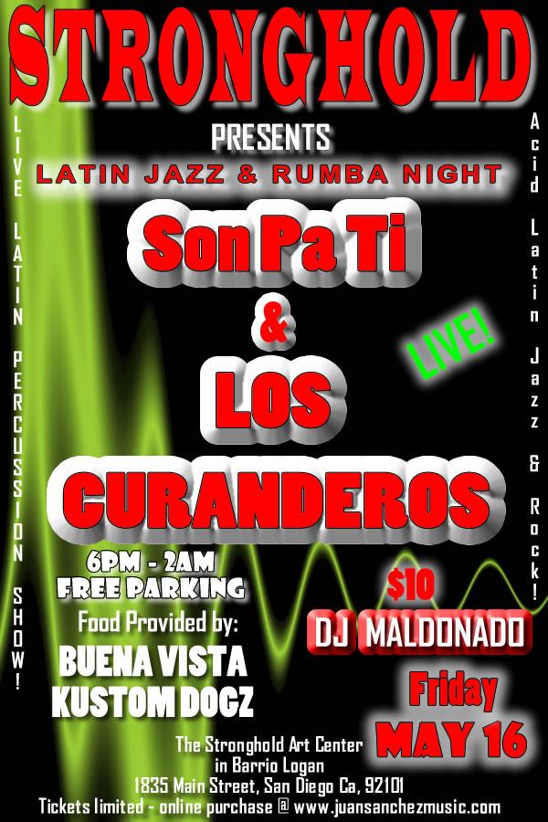 live latin percussion show rumba conga drum show